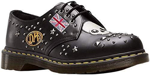 Dr.Martens Unisex 1461 Rockabilly Smooth Leather Black Schuhe 46 EU