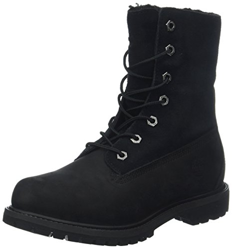 Timberland Damen Authentic Teddy Fleece Chukka Boots, Schwarz (Black), 39 EU