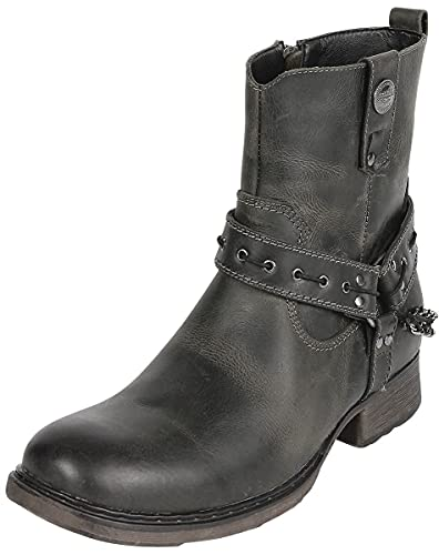 Rock Rebel by EMP Thunder Road Männer Boot dunkelbraun EU45 Leder Basics, Rockabilly, Rockwear
