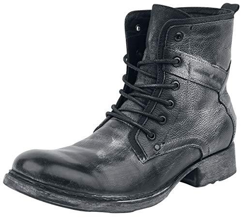 Black Premium by EMP Road Man Männer Bikerboot schwarz EU45 Leder Basics, Casual Wear, Rockabilly