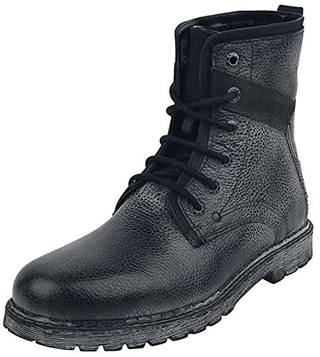 Black Premium by EMP Road Man Männer Bikerboot schwarz EU43 Leder Basics, Casual Wear, Rockabilly